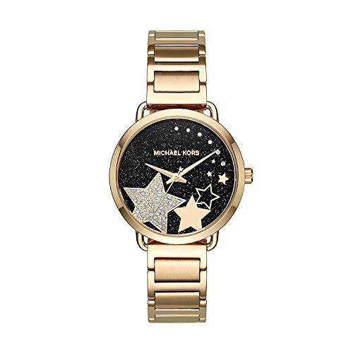 Michael Kors Damen Analog Quarz Uhr mit Edelstahl Armband MK3794