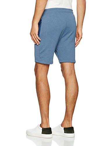 JACK & JONES Herren Jornewhouston Sweat Shorts Noos Blau (Dark Denim Fit:TIGHT SEMI LOW FIT- MELANGE)