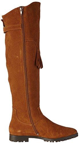 Daniel Hechter - Hj55303, Stivali Classics Over-Knee con calda fodera Donna Marrone (Braun (sand 240))