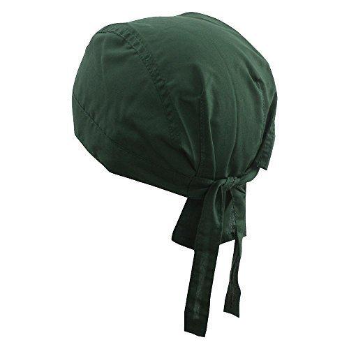 Myrtle Beach - Bandana Hat | Kopftuch, one size, dunkelgrün