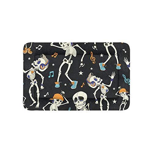Enhusk Dance Skeleton Extra Große Individuell Bedruckte Bettwäsche Weiche Hundebett Couch Für Welpen Und Katzen Möbel Matte Cave Pad Kissen