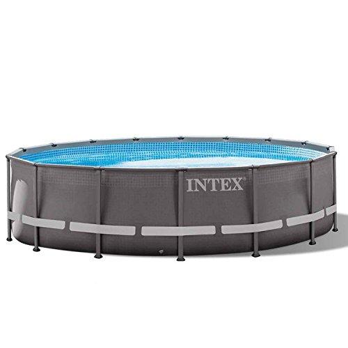 Intex 28324GN Frame Pool Set Ultra Rondo, 488 x 122 cm