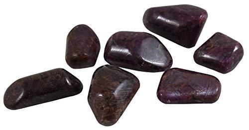 HARMONIZE Tamaño clasificado Rubí Las Piedras curativas Cayo naturales de Reiki
