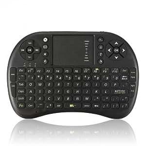 Haute qualité Clavier 2.4G mini souris sans fil avec pavé tactile pour PC Android TV HTPC