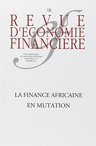 La finance africaine en mutation