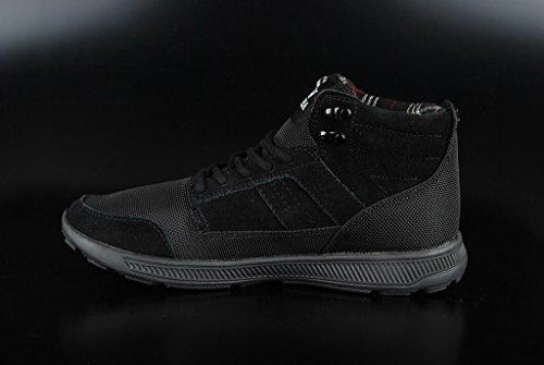 Supra Bandito Unisex-Erwachsene High-Top Schwarz (BLACK / BLACK - BLACK BBB)