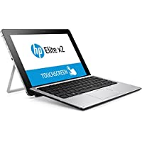HP Elite x2 1012 G1 (L5H20EA) 30,48 cm (12 Zoll / FHD) Tablet PC (Intel Core m5-6Y57, 8GB RAM, 256GB SSD, mit Tastatur, LTE, Windows 10 Pro 64) silber