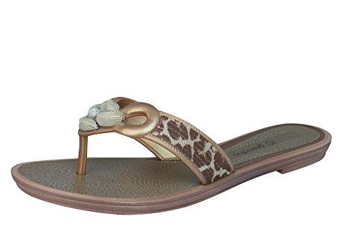 Grendha Exotic Thong Frauen Flip-Flops / Sandalen-BEIGE-39