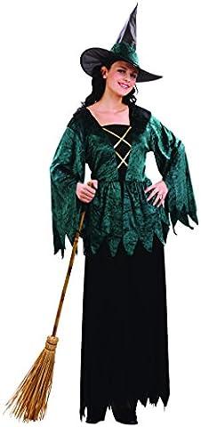 Gothic Hexen-Kostüm für Damen S (Gothic Hexe Kostüme Erwachsene)