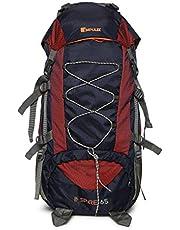 Impulse Waterproof Travelling Trekking Hiking Camping Bag Backpack Series 65 litres Blue Inspire Rucksack