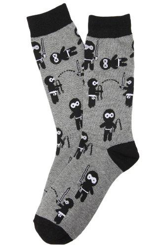 K. Bell Men's Ninjas Socks