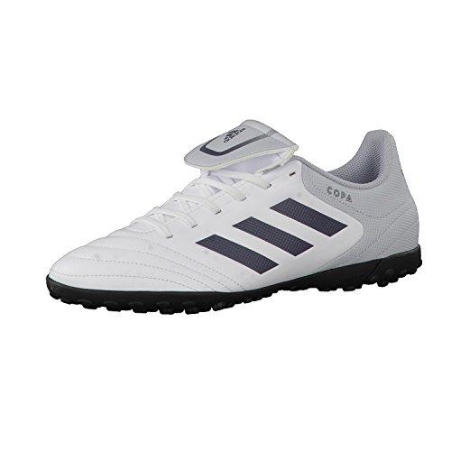 adidas Herren Copa 17.4 Tf Fußballschuhe Weiß (Footwear White/onix/clear Grey)