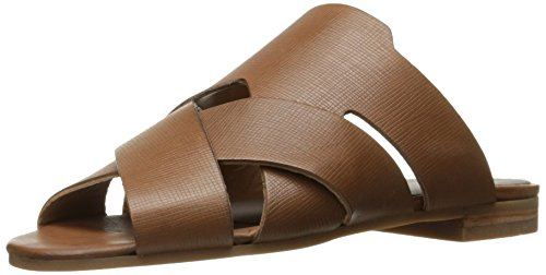 Pantofole Hudson Londra Da Donna In Pelle Di Vitello Lonatu Brown (tan)