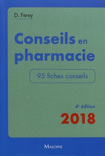 Conseils en pharmacie : 95 fiches conseils
