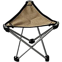 Funihut Camping Klappstuhl Tragbare Aluminiumlegierung Hocker Klapphocker Camping Outdoor Campinghocker Angelstuhl Slacker Stuhl F/ür Camping Und BBQ