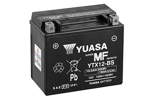 YUASA YTX12-BS Batterie de Moto