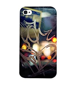 Mental Mind 3D Printed Plastic Back Cover For Iphone 4s - 3DIP4S-G79