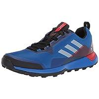 adidas outdoor Men's Terrex CMTK Trail Running Shoe, Blue Beauty/Grey ONE/Active RED, 8.5 D US