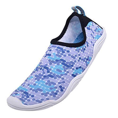 LILIHOT Frauen Wassersport Schuh Barfuß Quick-Dry Aqua Yoga Schuhe Schwimmen Surf Schuhe Strandschuhe Badeschuhe Surfschuhe Schwimmschuhe Damen Herren Wassersport Beach Pool Surfen Unisex Shoes