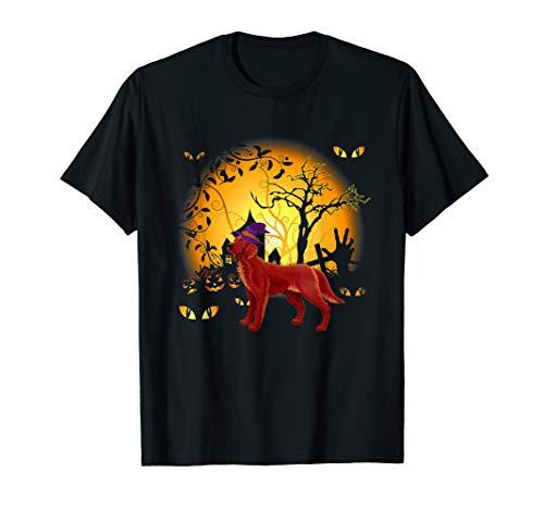 Lustiges Irish Setter Halloween Kostüm Tee - Hausgemachte Skelett Kostüm