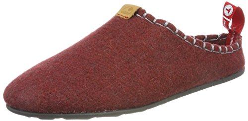 viking Unisex-Erwachsene DNT TOFFEL Pantoffeln, Rot (Red 10), 43 EU