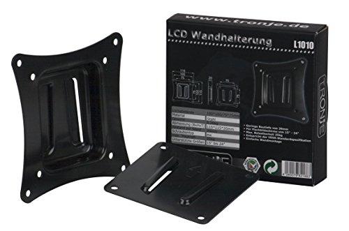 """Tronje L1010 Wand-Halterung für 15""""-24"""" Monitore LED TFT oder größer bis max. 25KG starre Halterung Vesa 75/100"""