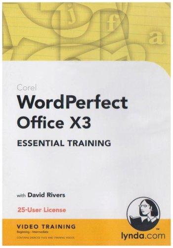 WordPerfect Office X3 Essential Training (PC) -
