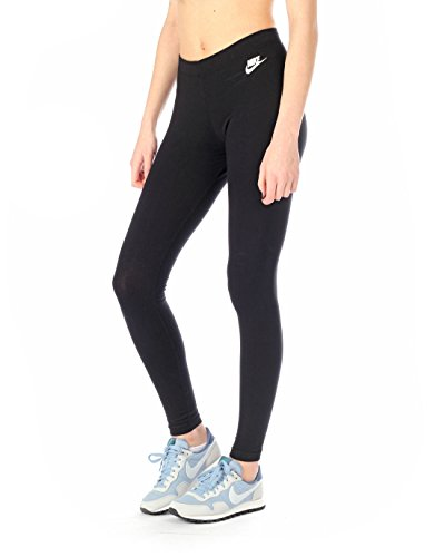 Nike Damen Oberbekleidung Leg A See Just Do It Tights, schwarz, L, 726085-010 (Frauen Tennis)