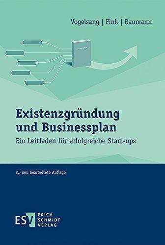Buchseite und Rezensionen zu 'Existenzgründung und Businessplan: Ein Leitfaden für erfolgreiche Start-ups' von Eva Vogelsang