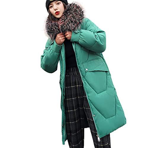 Günstige Assassin's Kostüm 4 Creed - WRWYOSF Damen Winterjacke Wintermantel Daunenjacke Jacke Outwear Pelzkragen Baumwollkleidung Frauen Winter Warm Daunenmantel Arbeiten Sie Festen beiläufigen dickeren dünnen Mantel