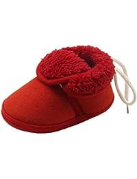 Zapatos de invierno bebé, Amlaiworld Botas bebé Niña Niño invierno Zapatos calientes recién nacidos Cuna Zapatos 0- 18 Mes