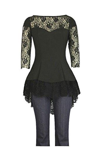 Alaani - Camisas - Asimétrico - para mujer negro 54