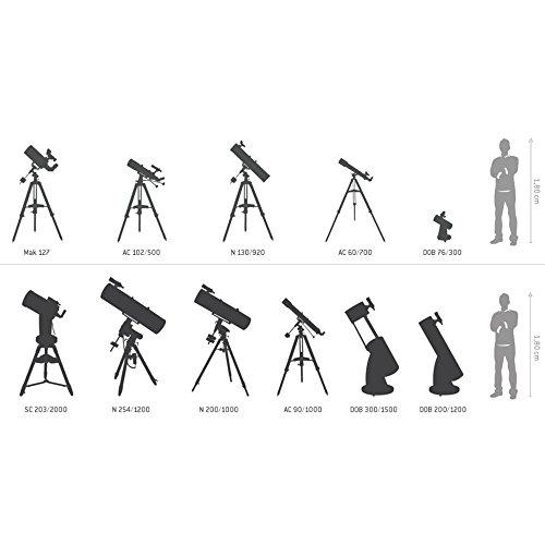 Sky-Watcher Startravel-80 Refractor Telescope with Table Stand (up to 80x Magnification / 80 mm Lenses)