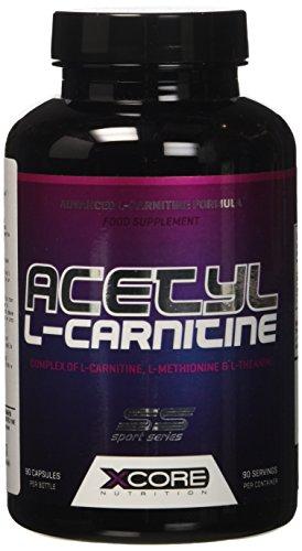 41HSInhG99L - Xcore Nutrition Acetil L-Carnitina - 1 Unita da 90 Capsule