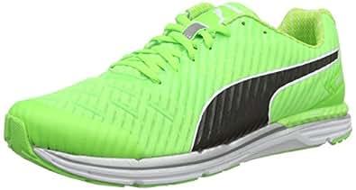 Puma Men's Speed 300 Ignite Pwrcool Green Gecko and Black Running Shoes - 8 UK/India (42 EU)