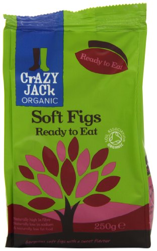 Crazy Jack Organic Ready to Eat Figs 250 g (Pack of 6) Test