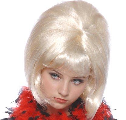 (Seiler24 Blonde Süße 60er Sixties Damen Perücke)