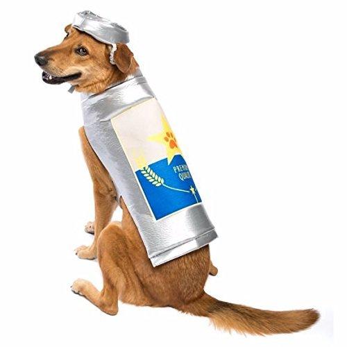Bier Kostüm Hunde - Thrills & Chills Nervenkitzel Erkältung & Bier Kann Hund Kostüm ~ klein ~