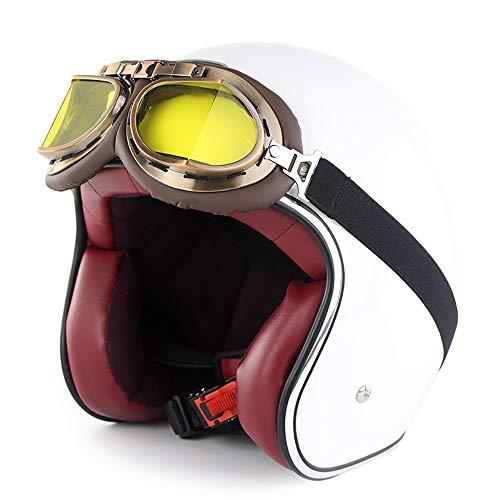 Casco,Custodia ABS Multi-Densità Caschi EPS Sottogola Rinforzato Casco Moto Fodera Removibile caschi Moto Sistema di Ventilazione Certificato DOT