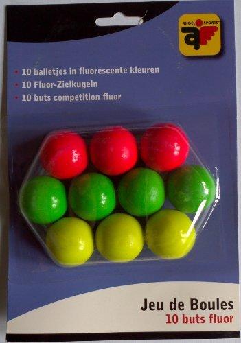 Zielkugel-Set mit 10 farbigen Zielkugeln