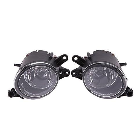 kkmoon L & R Front Bumper fahren Nebel Grill Leuchte Lampe für Audi A4B602–050304Limousine