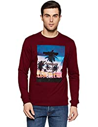 Peter England Men's Cotton Sweatshirt