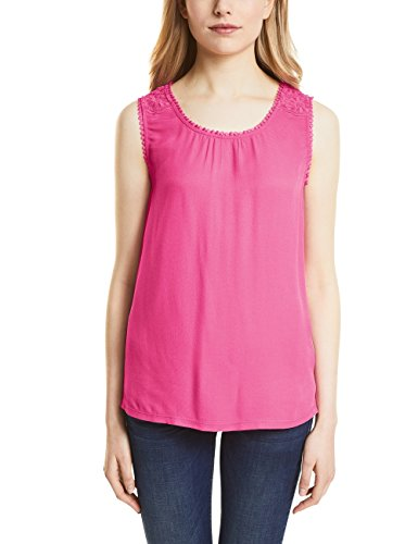 (Street One Damen Top 311933, Rosa (Flamingo Pink 11272), 42)