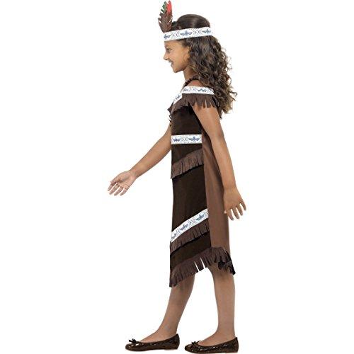 Imagen de traje de pocahontas o india disfraz niña oeste salvaje alternativa
