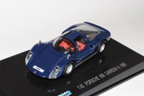 Porsche 906 Carrera 6 Coupe Blau 1965-1966 1/43 Modellcarsonline Modell Auto
