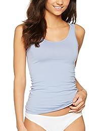 Iris & Lilly Camiseta de Tirantes de Algodón para Mujer, Pack de 2