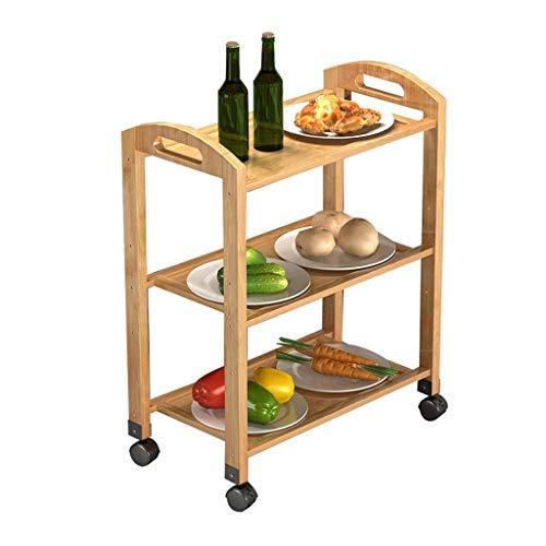 JOLLY Küchen-Servierwagen, Schrank mit Rollen, Küchen-Aufbewahrungs-Servierwagen (größe : 70 * 25 * 73cm)