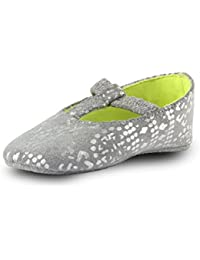 Beanz Party Pramy Silver Shoes For Girls