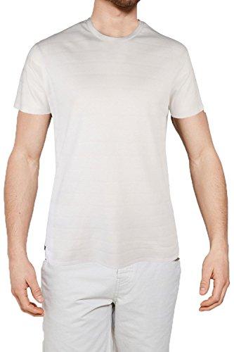 Threadbare Herren Slim T-Shirt weiß weiß Small Stockton - White Tee