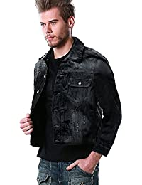 Match Men's Classic Denim Jacket #1070